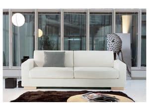 Brug, Divano elegante in poliuretano indeformabile, per uffici