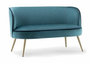 CANDY SOFA 061 DL, Divanetto dalle forme dolci
