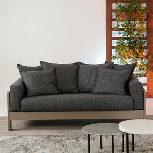 Kuba Soft, Elegante divano in legno