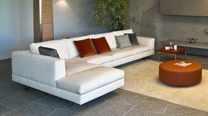 Lario angolare, Divano modulare, dal design moderno