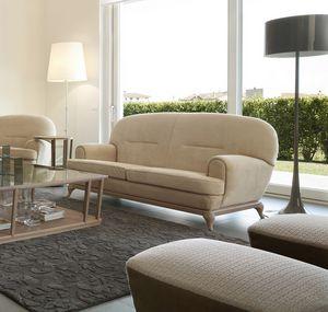 Massenet divano, Divano contemporaneo, dalle linee arrotondate