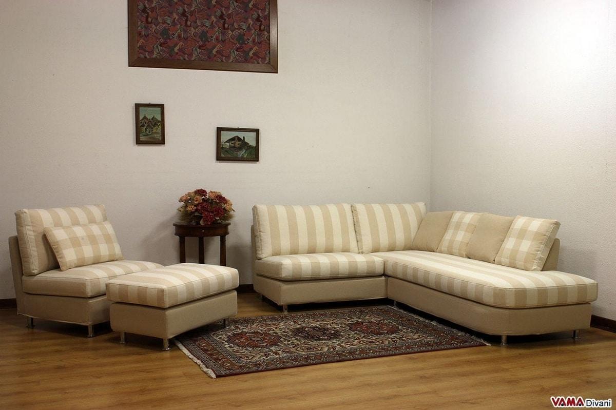Divano Angolare Piccole Dimensioni divano ad angolo di dimensioni ridotte con penisola | idfdesign