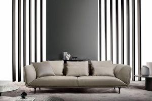 Premiere, Elegante divano dalle linee morbide