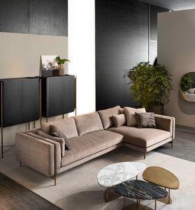 Shangai divano angolare, Divano componibile dal design moderno
