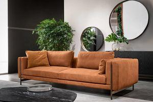 Shangai divano, Divano componibile, con struttura in metallo