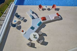 Bento divano componibile, Divano modulare dal design moderno, per outdoor ed indoor