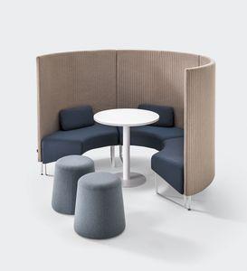 BASE, Sistema modulare fonoassorbente per aree conversazione