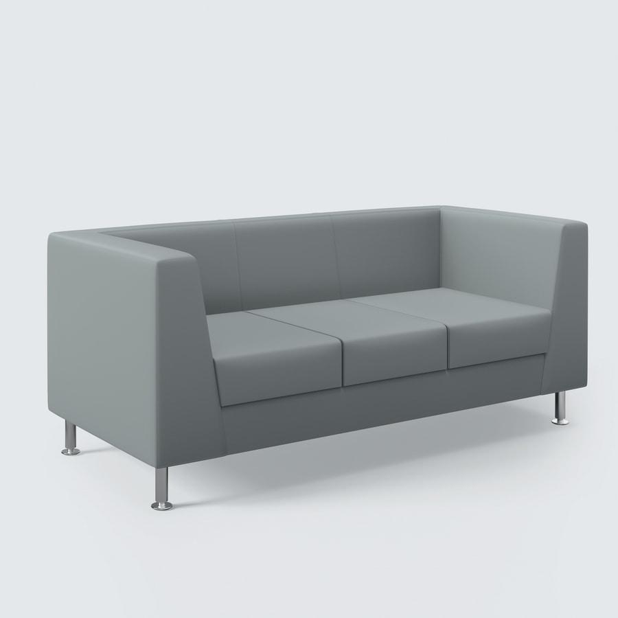 NAXOS, Divanetto dal design pulito, finiture di altissimo livello, per salotto e ufficio