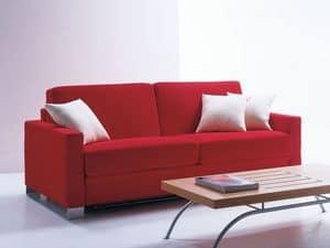 Artemide, Divanetto con letto, moderno e semplice, per casa vacanze