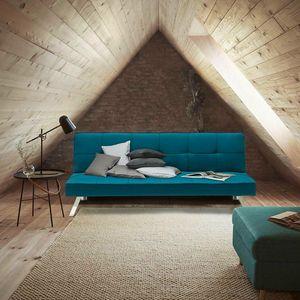 Divano letto in tessuto 2 posti design moderno GEMMA pronto letto - DI319MIBL, Divano letto di grande eleganza e comfort