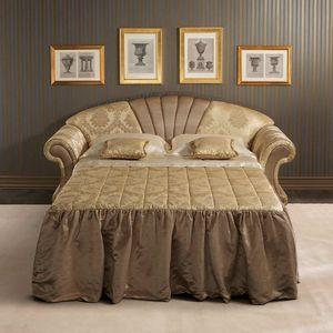 Fantasia divano-letto, Divano letto dallo stile neoclassico