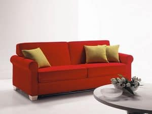 Minerva, Divano trasformabile, letto ospite, per appartamenti