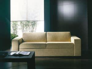 Prometeo, Divano letto ultramoderno, trasformabile in letto, sfoderabile