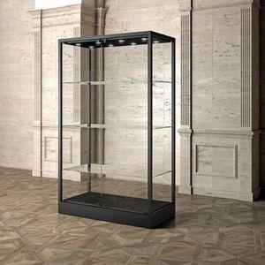 Museum MU/120FC, Vetrina espositiva con ripiani in vetro