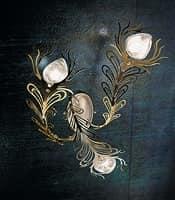 Musa applique, Illuminazione a parete in varie versioni, stile moderno