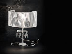 Onda lumetto, Lampada da tavolo con diffusore in fibra di carbonio