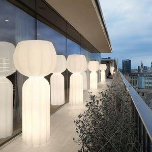 Lampada da terra colonna LED design moderno Slide Cucun LP CUC191, Lampada da terra a LED