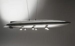 AIR-ALP0170, Lampada realizzata con serbatoio Alpha Jet
