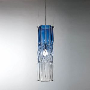 Eclissi Rs192-090, Lampada a sospensione in vetro