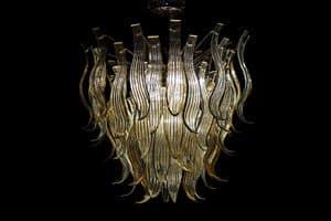 Eden lampadario, Lampadario realizzato artigianalmente