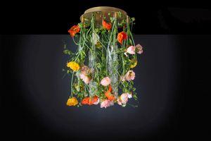 Flower Power Poppy Round, Lampadario dal design floreale