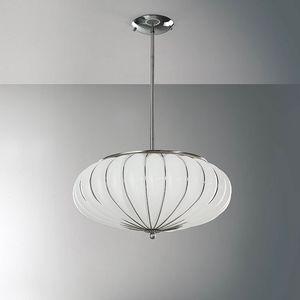 Giove Rs127-014, Lampada a sospensione in vetro in vari colori
