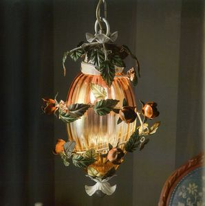 L.8665/1, Lampadario ovale con 1 luce