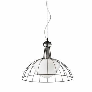 Lab Ls612-045, Lampada con struttura in filamenti metallici