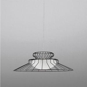 Sunrise Ls613-020, Lampada in metallo e vetro soffiato