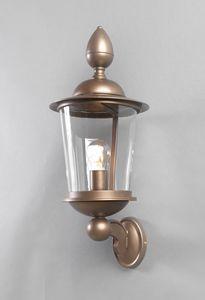 ANTON GL3028WA-1, Lanterna per esterno in ferro e bronzo