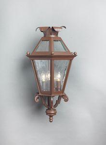 ESAGONA GL3013WA-3AD, Lanterna in ferro da parete