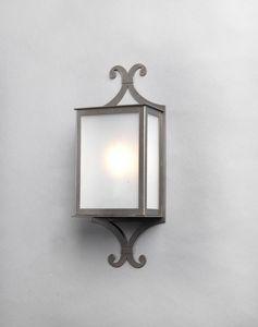 JYOTI GL3005WA-1, Mezza lanterna in ferro