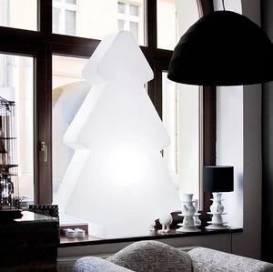 Lampada da terra tavolo albero di Natale design moderno Slide Lightree SD TRF, Lampada a forma di albero