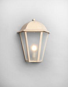 MARMI GL3014WA-1M, Lanterna in ferro, finitura beige