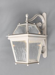 SCALA GL3008WA-MEDUSA, Lanterna in ferro con braccio, per esterni
