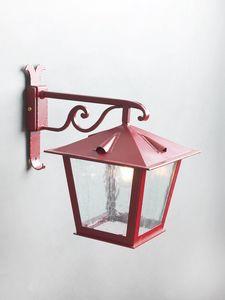 TOSCANA GL3029AR-1dw, Lanterna in ferro rosso opaco