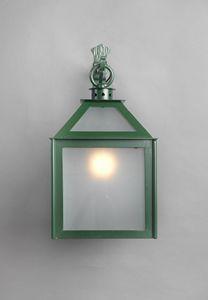 VETRI SOPRA GL3018WA-1AD, Lanterna con vetro zincato