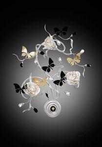 21523, Applique con farfalle decorative