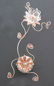 99121, Applique con decori floreali