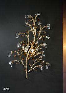Art. 2035 Matisse, Applique in ottone dorato