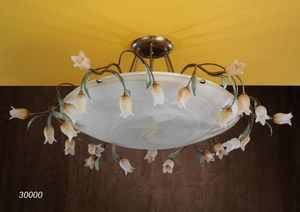 Art. 30000 Butterfly, Plafoniera dal design artigianale