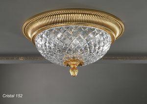 Art. CRISTAL 152, Elegante plafoniera dal design classico