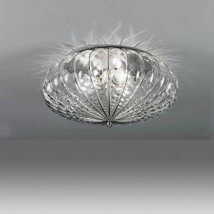 Giove Rc227-015, Plafoniera che diffonde la luce morbidamente