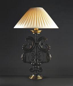 CORTINE HL1031TA-1, Lampada da tavolo in ferro forgiato