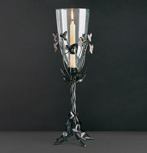 EDERA HL1047TA-CAND, Candeliere in ferro con foglie