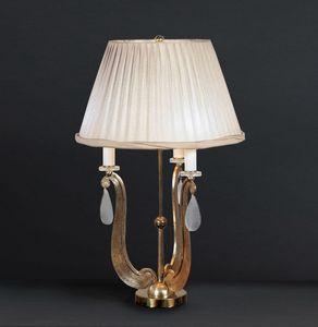 FORMELLE HL1036TA-3, Lampada da tavolo con base in ferr