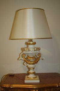 LAMPADA DA TAVOLO ART.LM 0002, Lussuosa lampada da tavolo classica