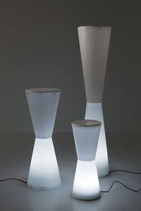 Flaire, Lampade in materiale plastico