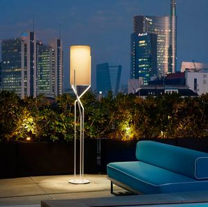 Lampada da terra design moderno minimale in metallo Slide Aura LP AUR, Lampada da terra moderna