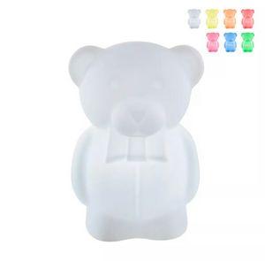 Lampada da terra per bambini Charlie orsetto Slide design LP ORS055, Lampada a forma di orsetto